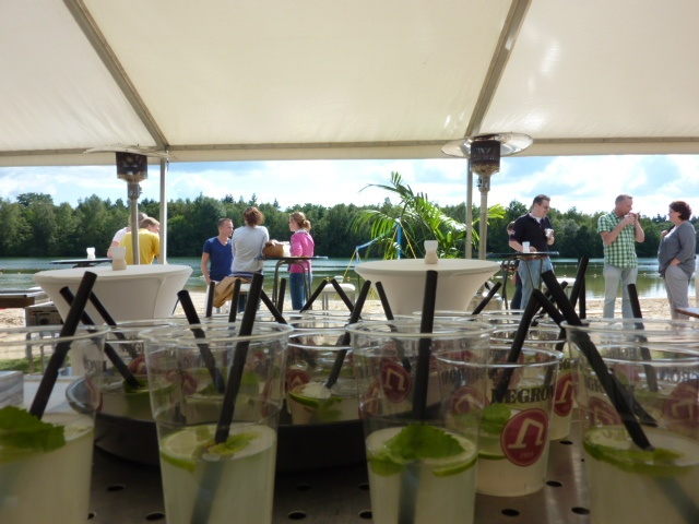 Strandspektakel met Salsa en Cocktail Hulsbeek Events