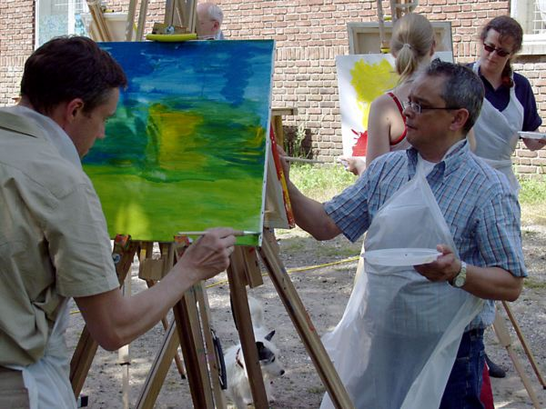 Schilder Workshop Hulsbeek Events